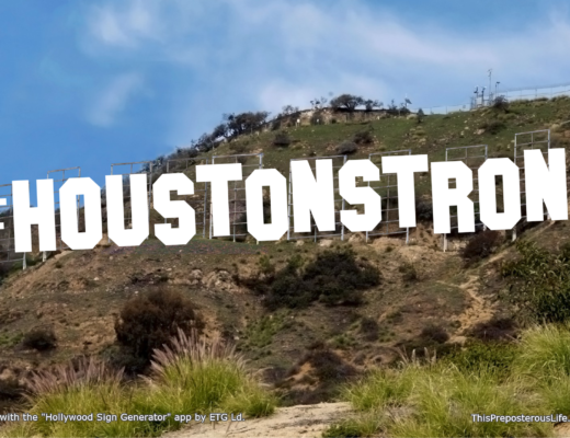 #HoustonStrong Sign