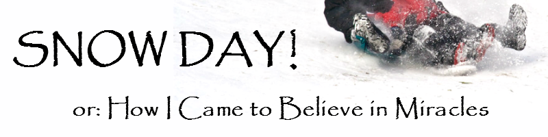 snow day or how I came to believe in miracles