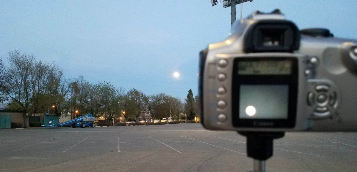 Photographing Supermoon